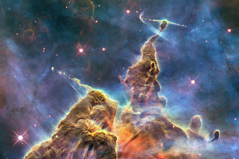 by NASA, ESA, and M. Livio and the Hubble 20th Anniversary Team (STScI)