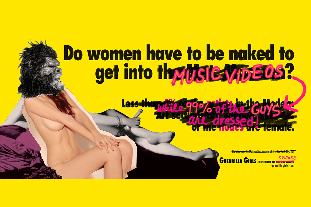 by Guerrilla Girls